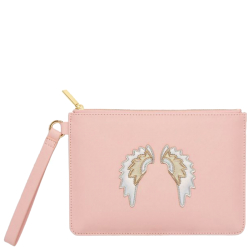 Estella Bartlett applique clutches roze