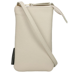 Fred De La Bretoniere grain leather beige