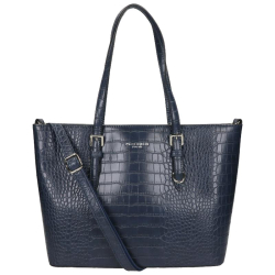 Flora & Co croco blauw