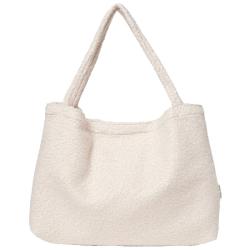 Studio Noos boucle mom-bag beige