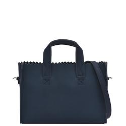 MYOMY my paper bag handbag mini blauw