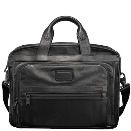 Tumi Alpha Leather Business
