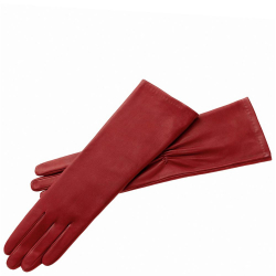 Roeckl lange evening handschuhe 7.5 rood