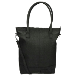 Zebra Trends Natural Bag Kartel rits Croco