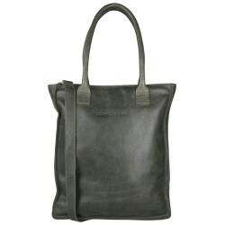 Cowboysbag plain groen