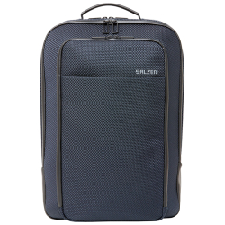 Salzen business backpack blauw