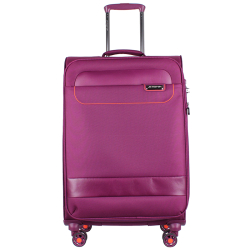 March Luggage tourer paars