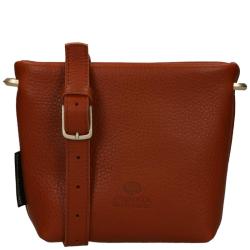 Fred De La Bretoniere soft grain leather cognac