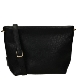 Fred De La Bretoniere soft grain leather zwart