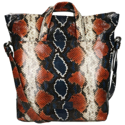 Shabbies Amsterdam Snake Print Leather
