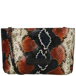 Shabbies Amsterdam Snake Print Leather
