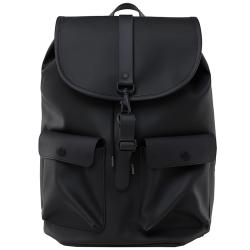 Rains camp backpack zwart