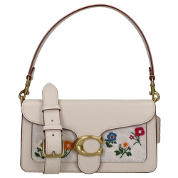 Coach floral embroidery tabby wit