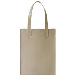 MYOMY my paper bag long handle zip beige