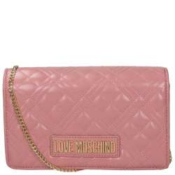 Love Moschino evening bag roze