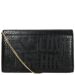 Love Moschino evening bag zwart