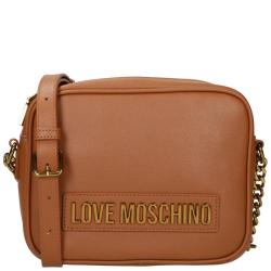 Love Moschino lettering love moschino bruin