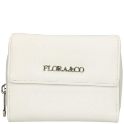 Flora & Co saffiano wit