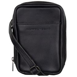 Cowboysbag raw zwart