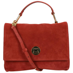 Coccinelle liya suede rood