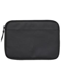 Rains laptop case 13 zwart