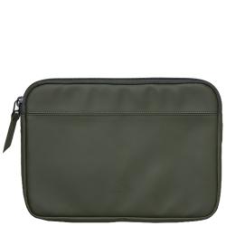 Rains laptop case 13 groen