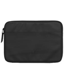 Rains laptop case 15 zwart