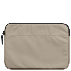 Rains laptop case 15 taupe