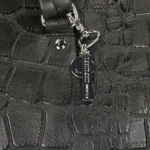 Loulou Essentiels Vintage Croco zwart