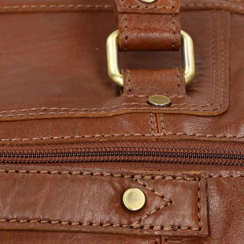 House of Sajaco Buff Leather cognac