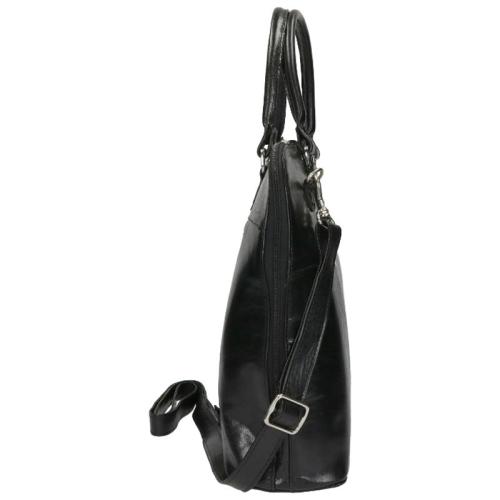 the Monte Buff Leather zwart
