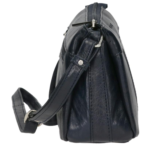 the Monte Buff Leather blauw