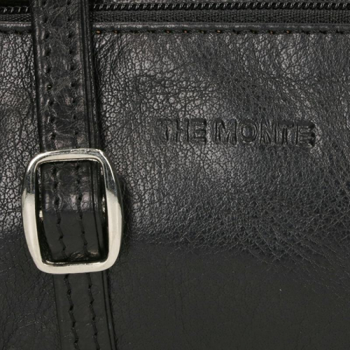 the Monte Buff Leather zwart