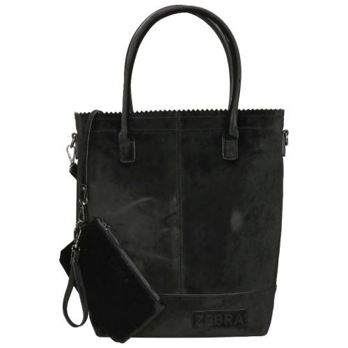 Zebra Trends Natural Bag Kartel rits zwart