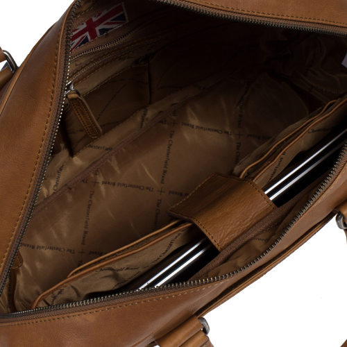 Chesterfield Waxed Pull Up cognac