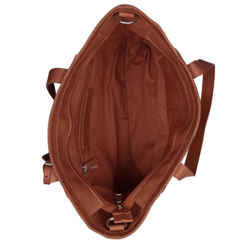 Cowboysbag Slanted cognac