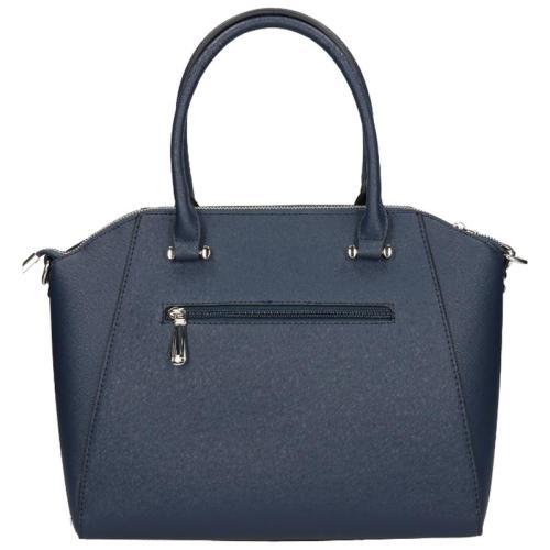 Flora & Co Saffiano blauw