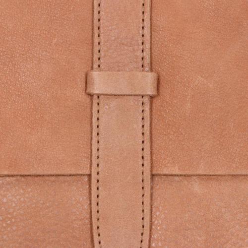 Fred De La Bretoniere Heavy Grain Leather bruin