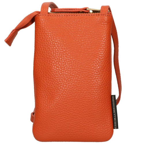Fred De La Bretoniere Grain Leather oranje