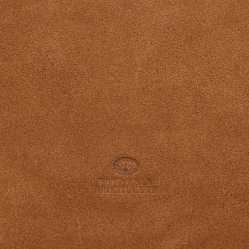 Fred De La Bretoniere Grain Leather cognac
