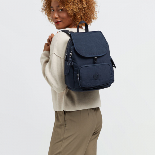 Kipling City Pack S blauw