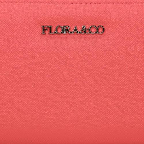 Flora & Co Saffiano roze