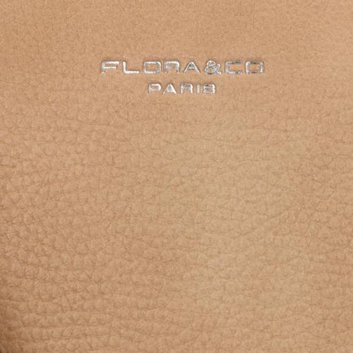 Flora & Co Saffiano taupe