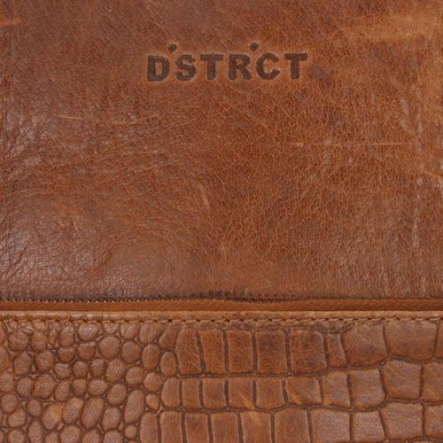 DSTRCT Croco cognac
