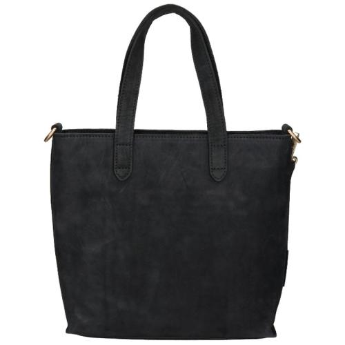 Fred De La Bretoniere Nubuck Leather zwart