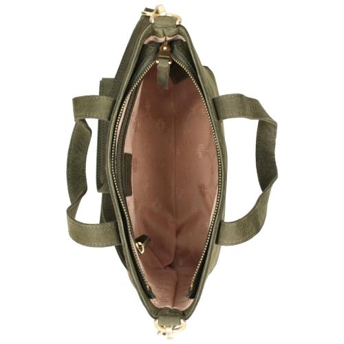 Fred De La Bretoniere Nubuck Leather groen