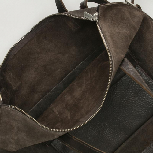 Shabbies Amsterdam Waxed Suede bruin