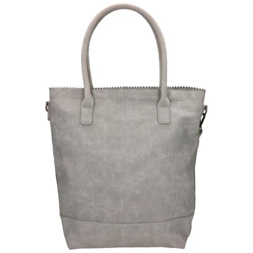 Zebra Trends Natural Bag Kartel rits grijs