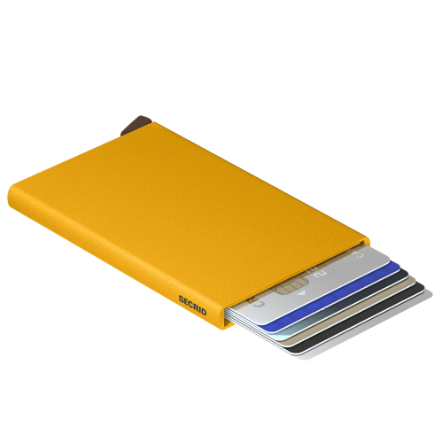 Secrid Cardprotector geel