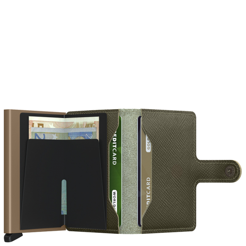 Secrid Miniwallet groen